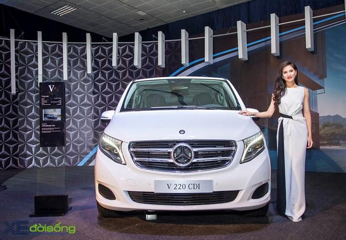 Mercedes V-class: Mẫu xe đa dụng hạng sang giá gần 2,5 tỷ