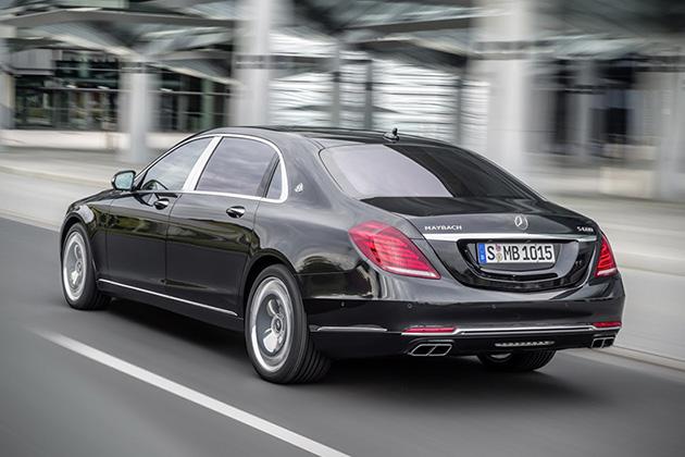 Mercedes-Maybach S600 chống đạn giá 500.000 USD
