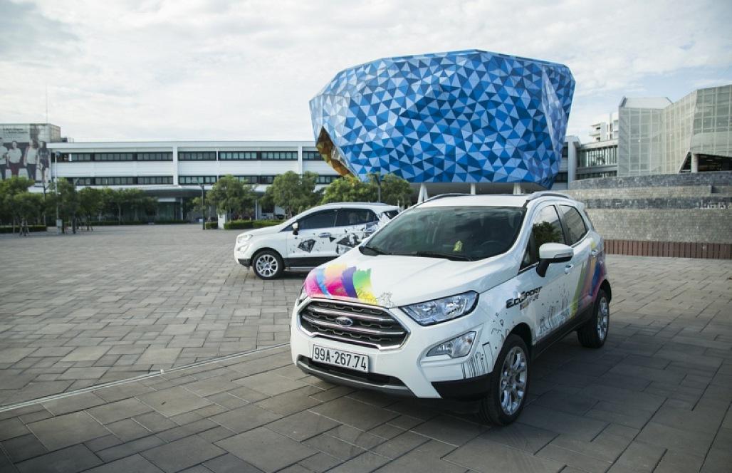 Ford EcoSport - SUV đô thị thiết kế cho giới trẻ