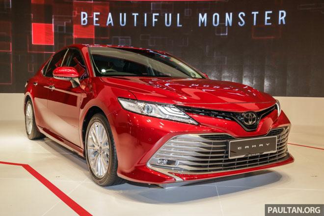 Khám phá Toyota Camry 2019