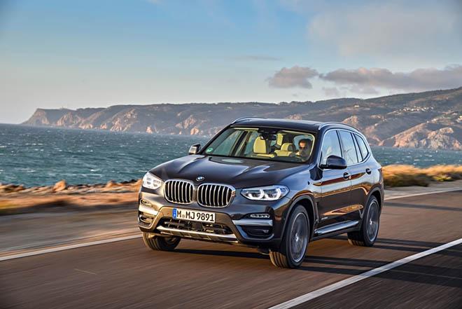 Cận cảnh BMW X3 thế hệ mới tại thị trường Việt Nam
