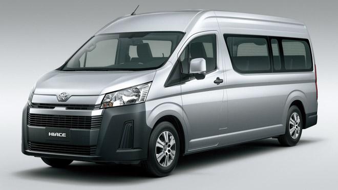 Toyota Hiace 2020 chính thức ra mắt với diện mạo mới, đi kèm hai cấu hình động cơ