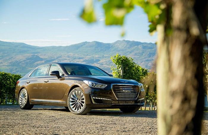 Sedan hạng sang cỡ lớn chất nhất năm: Genesis G90 2018