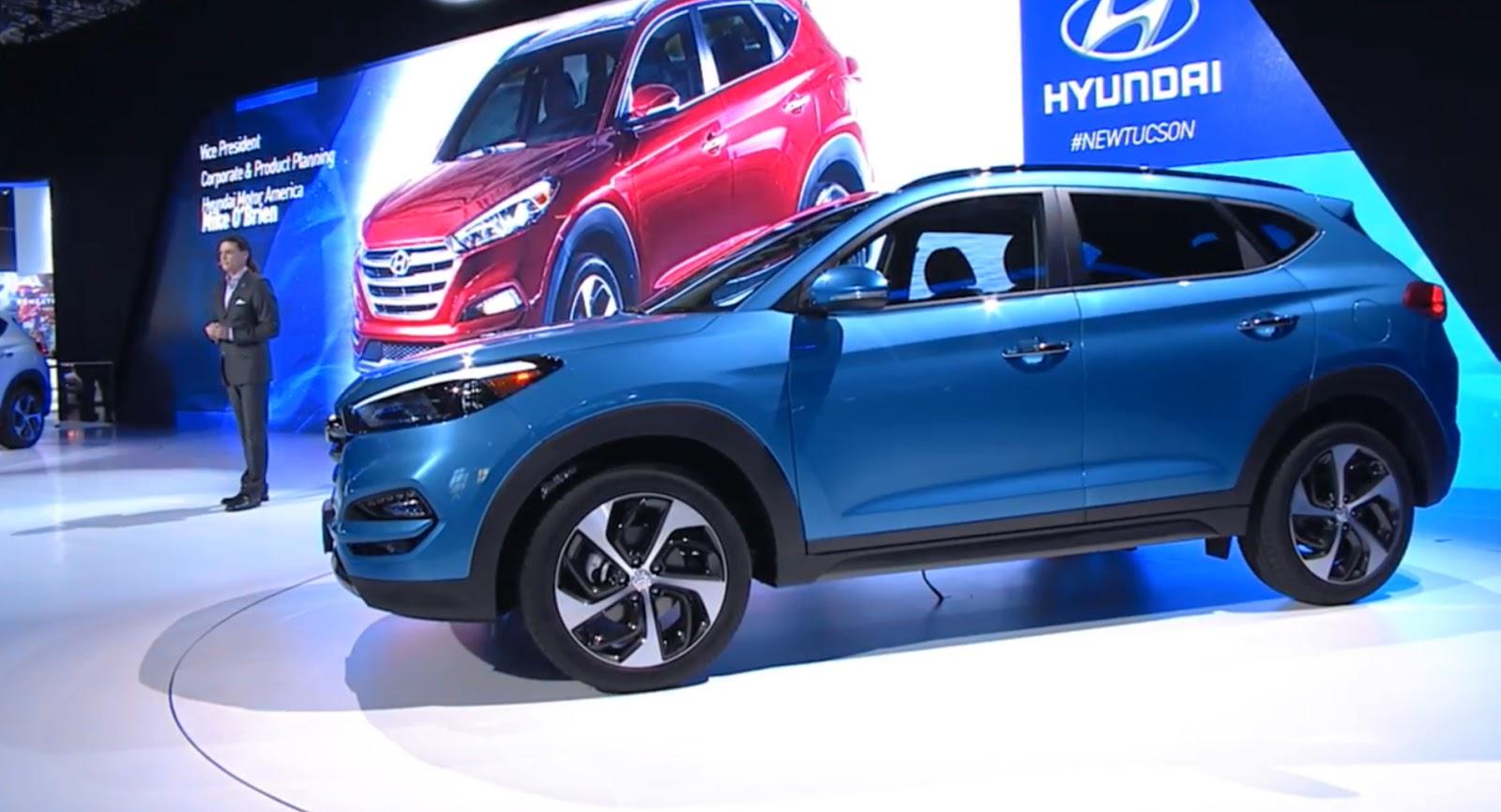 Hyundai Tucson 2016 và Mazda CX-5 2016 cuộc chiến mới