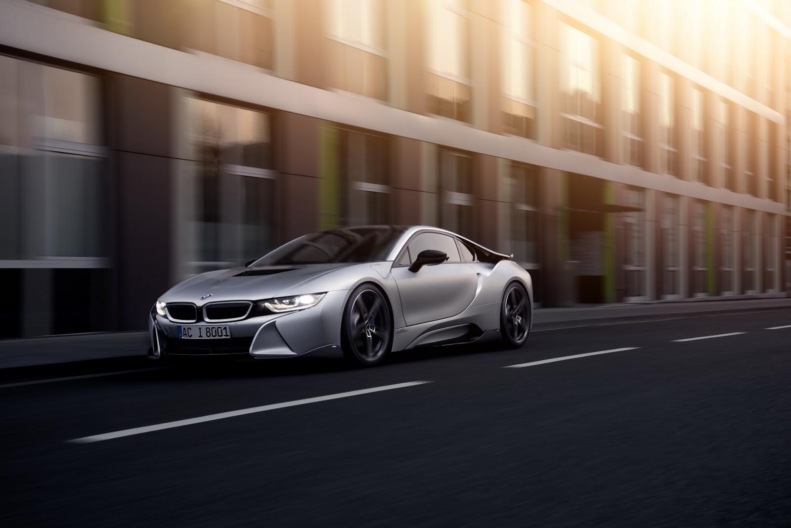 Bản độ BMW i8 siêu đẹp từ AC Schnitzer