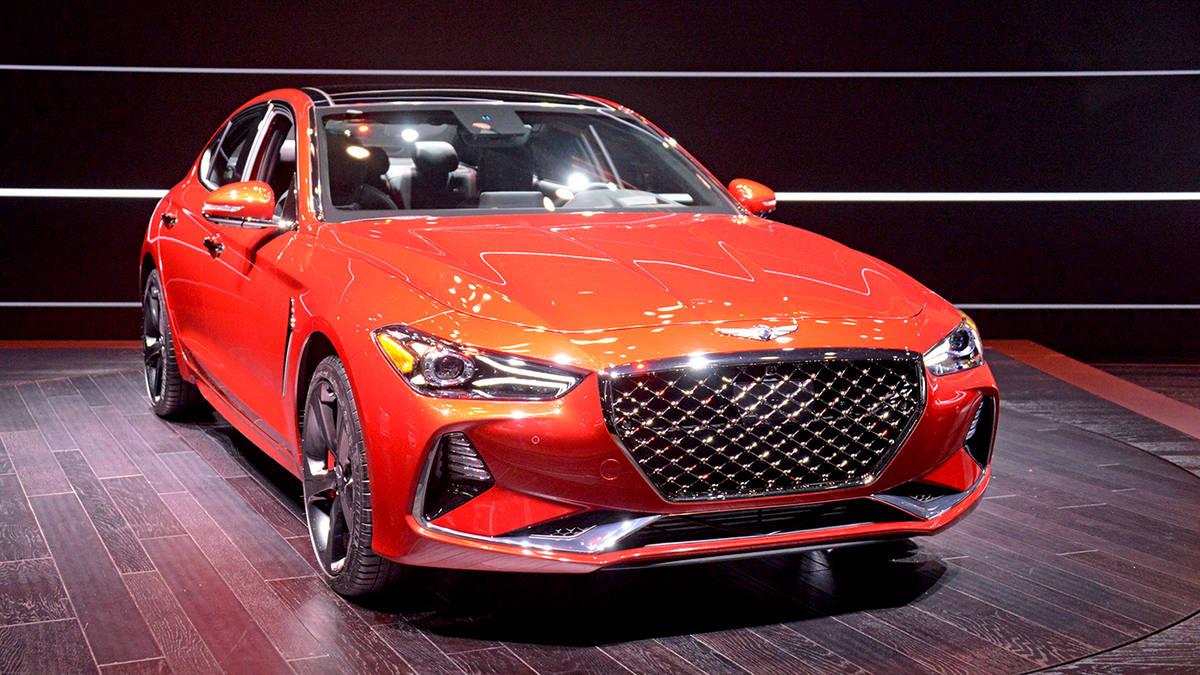 Xe Genesis G70 2019 sẽ được phép phân phối tại toàn bộ showroom Huyndai trên nước Mỹ