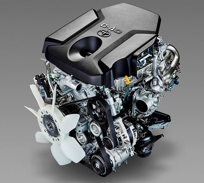 Động cơ Toyota Hilux và Fortuner 2016 có gì mới